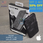 CLEARANCE NEW Tech21 Evo Wallet Case for Apple iPhone X/XS📲 | Black Camo