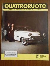 QUATTRORUOTE n.7 LUGLIO 1956 - ORIGINALE
