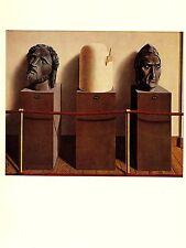 """1974 Vintage MAGRITTE """"ETERNITY, L'ETERNITE"""" COLOR offset Lithograph"""