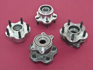 Front & Rear 5-Lug Conversion Hub 4x114.3 - 5x114.3 For 240SX 89-94 S13