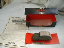 1/43 Citroen 2cv prototype TPV 1939 Norev ligne noire comme Neuf Boite + Notice