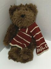 Polo Ralph Lauren Soft Brown Teddy Bear 2003 Plush 9 inches Stocking Stuffer