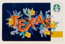 Starbucks Gift Card - TEXAS - Yellow Rose / Cactus - 2018 City Series