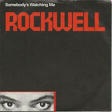 "ROCKWELL Somebody's watching me VINYL 7"" 45 RPM LP 1983 USATO OTTIME CONDIZIONI"