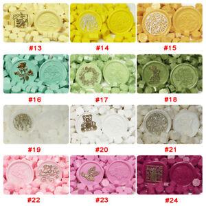 60pcs/lot Vintage Wax Seal Tablet Pill Beads for Envelope Decor DIY Seal Stamp