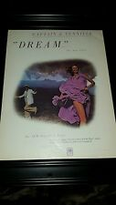 Captain And Tennille Dream Rare Original Promo Poster Ad Framed!