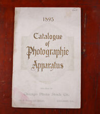 ROCHESTER OPTICAL 1895 PRODUCT CATALOG (CHICAGO PHOTO STOCK)/cks/215932