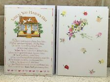 TWO New Susan Branch Greeting Cards - Wedding & Anniversary Cards w/Envelopes