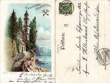 CPA NERVI Riviera Ackermann's Schlussel-Garn. ITALY (531395)