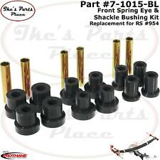 Prothane 7-1015-BL Front Leaf Spring&Shackle Bushing-Repl Rancho Susp 4WD #RS954