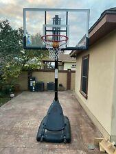 "Spalding Nba 54"" Portable Angled Basketball Hoop (66673Wt)"