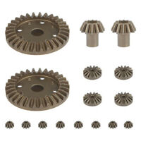 1X(Upgrade Metal Gear 30T 16T 10T Differential Driving Gears for Wltoys 144 W3M8