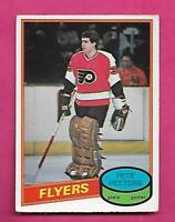 1980-81 OPC # 279 FLYERS PETE PEETERS  GOALIE  ROOKIE VG CARD (INV# C8295)