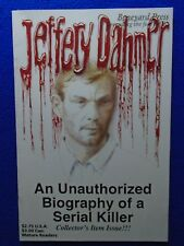 JEFFREY DAHMER ~ AN UNAUTHORIZED BIOGRAPHY ~ BONEYARD PRESS ~ RARE! ~ LAST ONE!