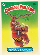 TOPPS 1985 GARBAGE PAIL KIDS SERIES 1 SINGLE CARD #34b ANNA BANANA GREAT SHAPE