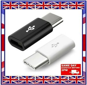 TYPE C MALE TO MICRO USB FEMALE ADAPTER  CHARGER for SAMSUNG XIAOMI HUAWEI