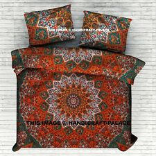 Mandala Indian Duvet Doona Cover Throw Boho Quilt Cover Bohemian Queen Bedding