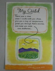 "Blue Mountain Arts Greeting Card ""My Child"" (BM227)"