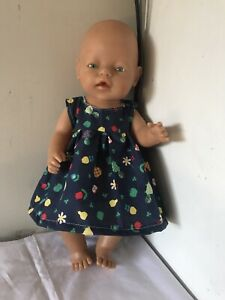 dolls clothes for baby born or cabbage patch doll 43 cm dress only