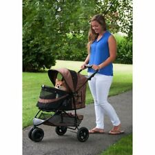 Pet Stroller with No Zip Technology, Large Storage Fle