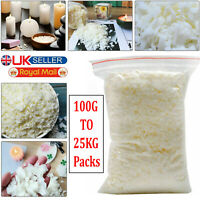 Soy Wax Flakes 100g - 25kg C3 Container Wax Scented Candle Making Eco Soya Wax