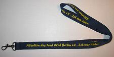 Ford Club Berlin Schlüsselband Lanyard NEU (A36)