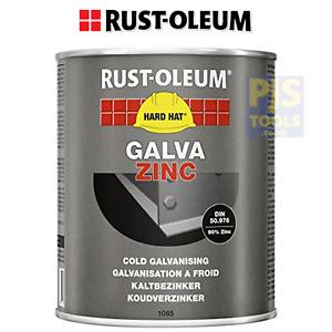 Rustoleum 1kg hard hat galva zinc rich cold galvanising paint like galvafroid