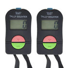 2 PCS Digital Hand Tally Counter With Lanyard, Handheld Mechanical Click TOPTIE