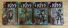 Kiss McFarlane Ultra Action Figures Set of 4 Gene Paul Ace Peter 1997 New