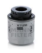 MANN W712/93 Oil Filter fits Audi Seat Skoda VW