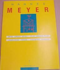 Pipe Organ Hannes Meyer Volume 1 Organ scores Country Dances