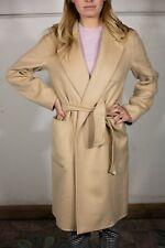 Max Mara Elise Camel Coat in Albino - US Size 10