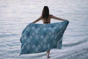 Mandala Pesthemal Beach Towel Turquoise