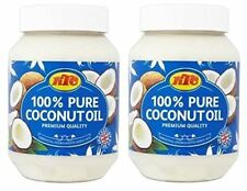 (Pack of 2) KTC 100% Pure Coconut Oil-500ml(Cooking,Hair,Skin Care,Multipurpose)