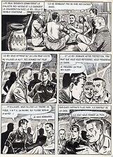 BOB LEGUAY PERIPLE DANS LE DESERT PLANCHE ORIGINALE TIM L'AUDACE ARTIMA PAGE 16