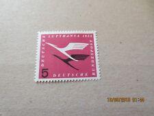 1955 BUND MNR 205I ** postfrisch (abgeschlagene 5) Prüfgarantie 450,- €