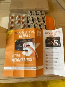 XLS-Medical Ultra 5 Weight Loss 42 Capsules  ( Half of a 84 BOX)