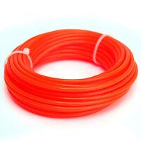 new 10m x 2.4mm Strimmer Line Nylon Cord Wire Round String Petrol Grass Trimmer
