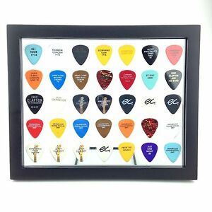 """PLECTRUM SPECTRUM  8"""" x 10"""" Guitar Pick Display Frame - Clear - FRAME INCLUDED!"""