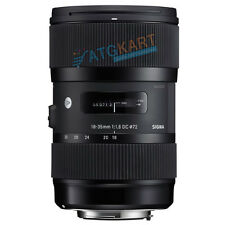 Brand New Sigma AF 18-35mm f/1.8 DC HSM (Art) for Canon Lens