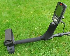 BLACK NEO REAR STEM/HAND GRIP COVER TO FIT A MINELAB EQUINOX -METAL DETECTOR