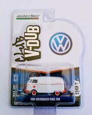 Greenlight 1/64 3 inch  '64 Volkswagen T-1 Panel Van Serie Club V-Dub