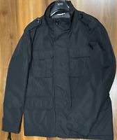 Hugo Boss Mens Water-Repellent Feldjacke Jacke Field-Jacket Mantel Coat New 54
