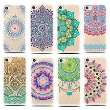 Nuevo Mandala Funda Carcasa Silicona Gel TPU Bumper Para Smart Phone Case Cover