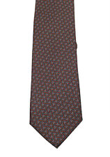 New Gucci Gray Patterned Tie