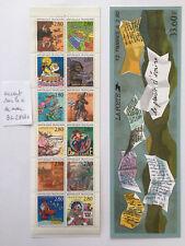 Bloc carnet timbres BC2848c neuf** accent sur avec année 1993