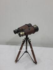 Victorian Marine Binocular W. Ottway & Co. Ealing London 1915 Binocular