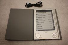 """SONY PRS-505 PRS505 6"""" portátil lector de libros electrónicos Con Estuche Y Paquete De Tarjeta Sd"""