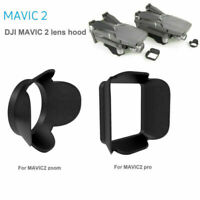 Lens Hood Sunshade Cap Protective Cover For DJI Mavic 2 Pro Zoom Drone Black FOC