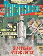 Thunderbirds #25 (19th September 1992) TV21 full colour reprint strips